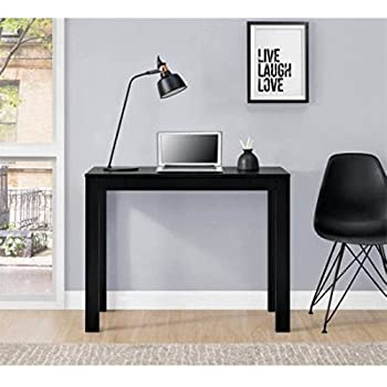 Amazon Com Mainstays Parsons Desk With Drawer Multiple