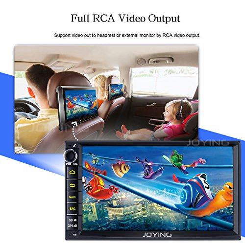 JOYING 7 Car Stereo 4GB + 64GB Android 8 0 Double Din with