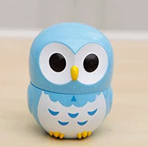 Lucky Beth 60 mins Cute Owl Shape Mechanical Kitchen Timer Cooking Count Down