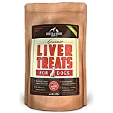 Rocco & Roxie All Natural Liver Dog Treats - Made in USA Only - Slow-Smoked Beef - Gluten-Free, Grain-Free - No Fillers - Healthy and Delicious Treats Your Dogs Will Love - 16 oz. Bag
