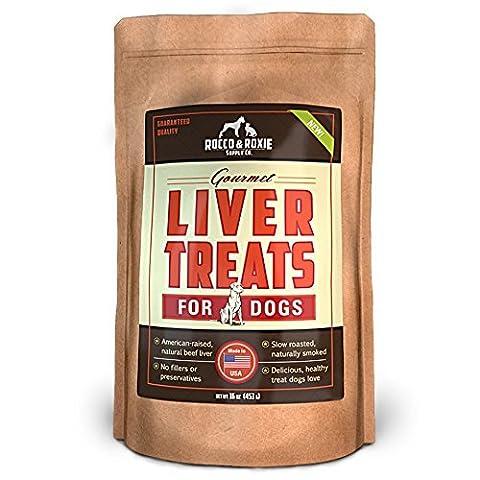 Rocco & Roxie Supply Liver Treats, Gourmel for Dogs, 16 Oz