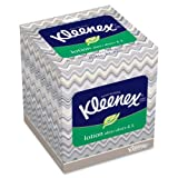 Wholesale CASE of 3 - Kimberly-Clark Kleenex Soothing Lotion Tissue-Facial Tissue, Lotion, Upright, 75SH/BX, 27BX/CT, White