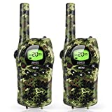 UOKOO Walkie Talkies for Kids, 22 Channel 2 Way Radio 3 Mile Long Range Kids Toys, Up to 3KM UHF Handheld Walkie Talkies, Toys and Gifts for 4, 5,6, 7, 8 Year Old Boys and Girls-1