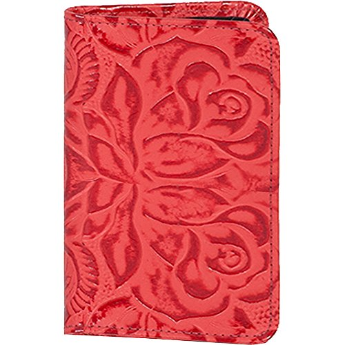 Scully New Tooled Leather Personal Weekly Planner (Red)