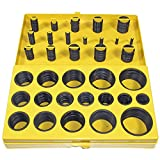 NEF O Ring Kit, Rubber Metric O-Ring Assortment, 32 Sizes, 419 Pieces