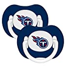 NFL Football 2014 Baby Infant Pacifier 2-Pack - Pick Team (Tennessee Titans - Solid)