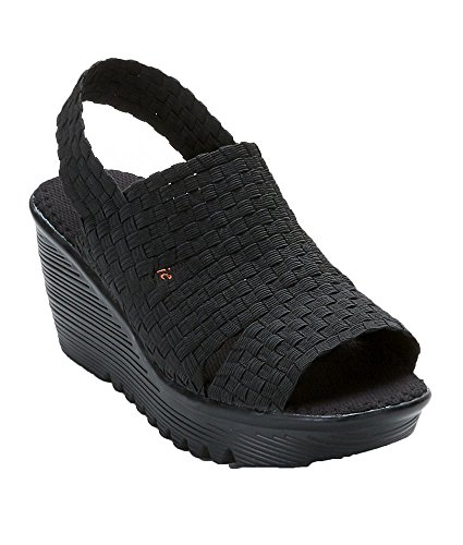 Bernie Mev Womens Level Sandals Black N6DtTt1