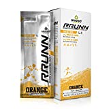 Cheap Unived RRUNN Pre Energy Sports Drink Mix, Runners & Athletes, Instant & Sustained Energy, Orange Flavor, Box of 6 Packets (0.55lbs, 252g)
