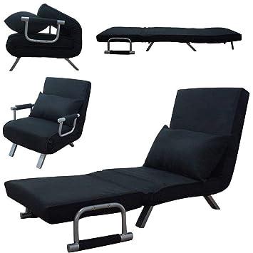 Amazon.com: Silla de salón, ajustable y plegable, sofá cama ...