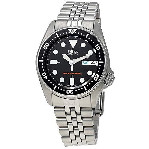 - Seiko SKX013K2 Black Dial Automatic Divers Midsize Watch