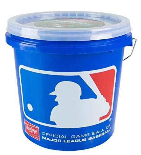 Rawlings Game Play Baseballs, Youth (12U), (Bucket of 24), R12UBUCK24 by Rawlings