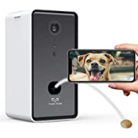 [Owlet Home] Pet Camera with Treat Dispenser & Tossing for Dogs/Cats, WiFi, 720p Camera, Live Video Streaming, Auto…