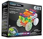 Laser Pegs 6-in-1 Monster Truck Build...