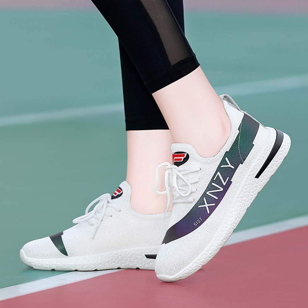 GONGFF Damenschuhe leichte Laufschuhe Laufschuhe Laufschuhe Wanderschuhe atmungsaktives Mesh Herbst Freizeitschuhe B07PQN446N Basketballschuhe Wirtschaftlich und praktisch f5618a