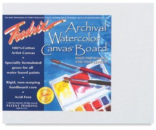 Fredrix Archival Watercolor Canvas Board 11 in. x 14 in. each by Fredrix