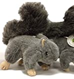 Realistic Plush Squirrel Dog Toy with Squeakers for Interactive Play/Training Medium Size (9-inch) Hunting Dog Approved by Sancho and Lola's Closet~Supporting Rescue Dogs Since 2015