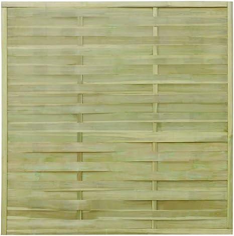 Retrome - Paneles de Valla para jardín (Madera, 54 m, 180 x 180 cm, Madera impr FSC): Amazon.es: Hogar