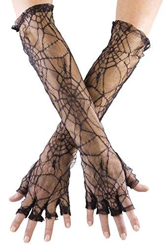 Gloves Spider Web