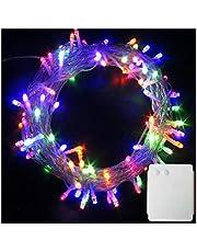 LED Luci stringa alimentate a batteria