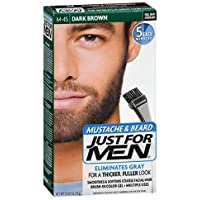 JUST FOR MEN Color Gel Mustache & Beard M-45 Dark Brown 1 Each