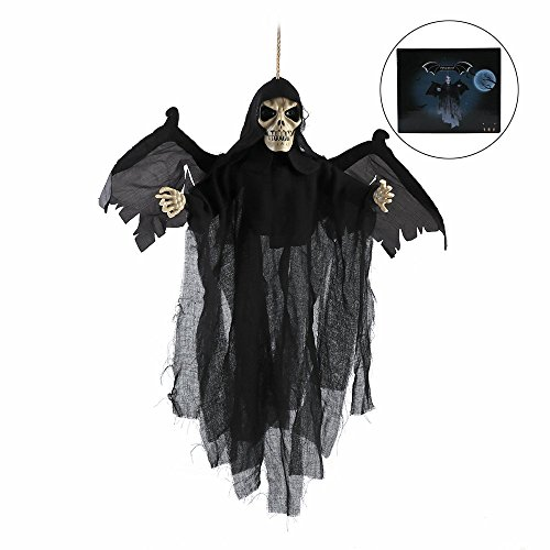 LBZE Animated Fly Ghoul Ghost With Sound and