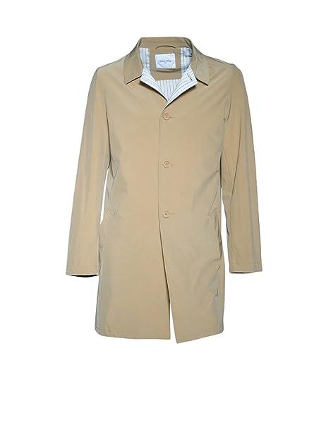 American Vintage - Abrigo - chaqueta guateada - Básico - para hombre Carbone 52: Amazon.es: Ropa y accesorios
