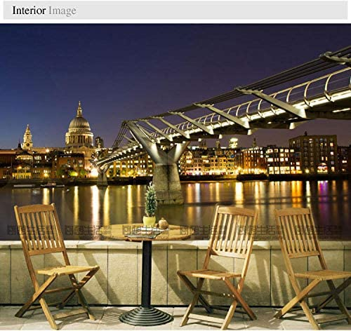 Murales a gran escala London Night Landscape Modern Living Room Tv ...
