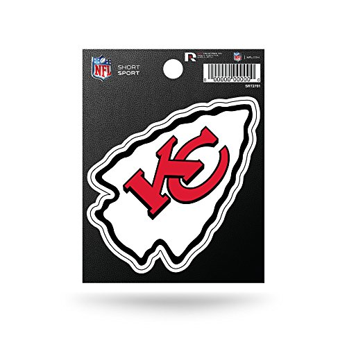 (Rico Industries NFL Kansas City Chiefs Die Cut Team Logo Short Sport)