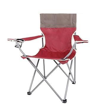 HM&DX Portátil Sillas de camping plegables exteriores ...