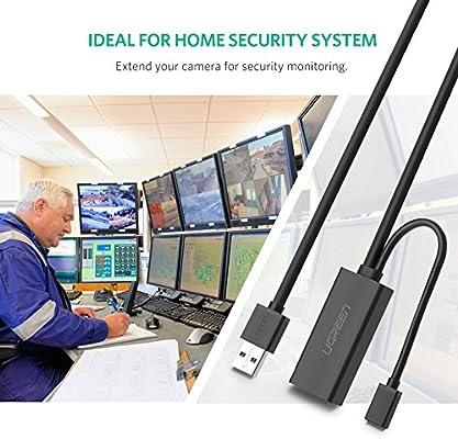 UGREEN Cables de extensión USB, Cable Alargador USB 3.0 Activo ...