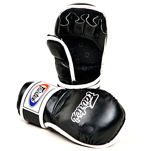 FGV15 Fairtex FGV15 MMA Sparring Gloves (Black, Medium)