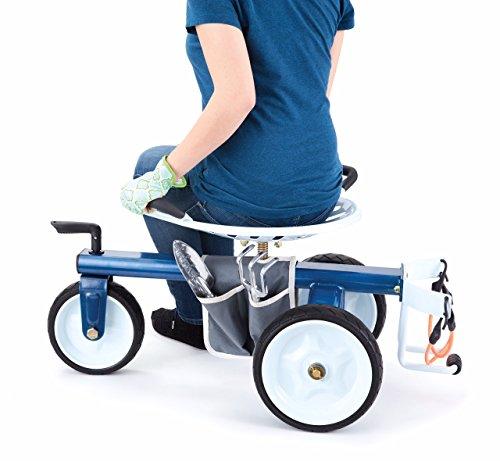 Gorilla Carts GCG-RGS Garden Scooter