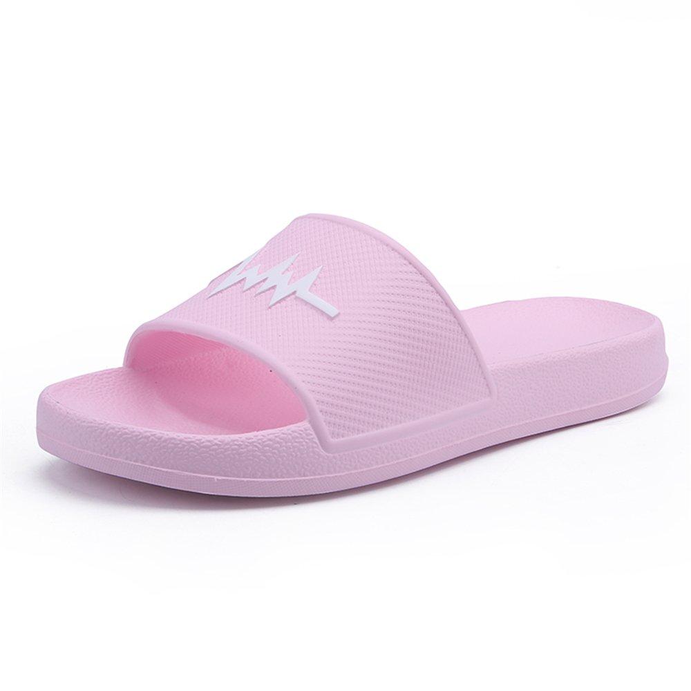 Sunny&Baby Sandalias de Interior de PVC para Hombre y Playa con Pantuflas de Playa Resistente al Desgaste (Color : Rosado, Tamaño : 39EU) 39EU|Rosado