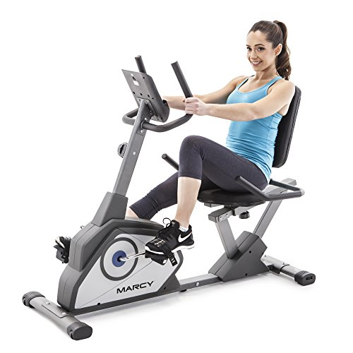 Marcy Magnetic Recumbent Exercise Bike with 8 Resistance Levels NS-40502R by Marcy (Image #4)