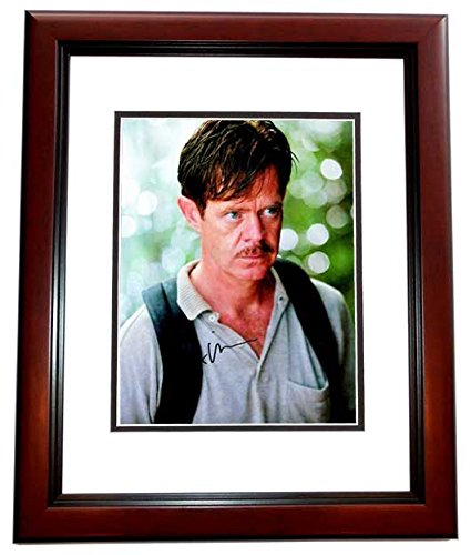 William H. Macy Signed - Autographed Jurassic Park III 8x10 Photo MAHOGANY CUSTOM Frame - Guaranteed to pass PSA or JSA - Shameless - Park Macys