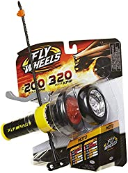 Fly Wheels Launcher + 2 Moto Wheels - Rip it up to 200 Scale MPH, Fast Speed, Amazing Stunts & Jumps up to