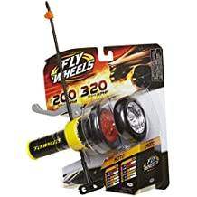 Fly Wheels Launcher + 2 Moto Wheels - Rip it up to 200 Scale MPH, Fast Speed, Amazing Stunts & Jumps up to 30 feet! All Terrain Action: Dirt, Mud, Water, Snow- One of The Hottest Wheels Around!