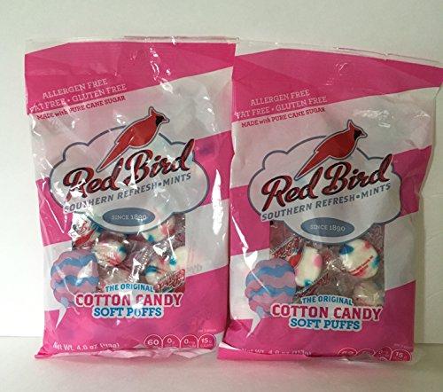 (Cotton Candy Puffs, Bundle 2 bags (4 oz each) )