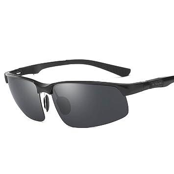 RPFU Gafas De Sol De Los Hombres Gafas Polarizadas Gafas De Sol Estilo Hipster Conductor Espejo