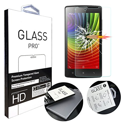 Tempered Glass For Lenovo A2010 (Clear) - 4