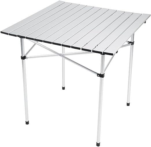 Tavolo In Alluminio Da Campeggio.Gototop Tavolo Da Campeggio Pieghevole Tavolo Camper Pieghevole