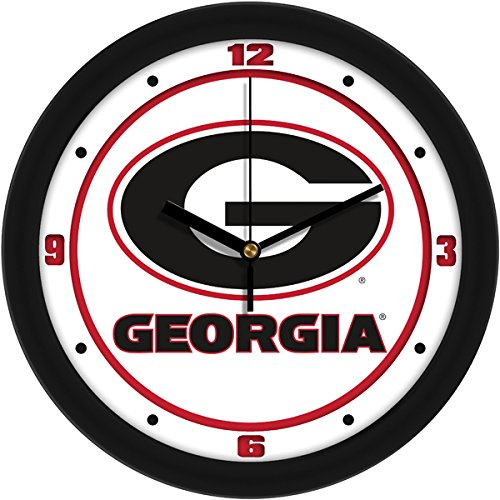 Georgia Bulldogs Round Clock - New Linkswalker Georgia Bulldogs Traditional Wall Clock