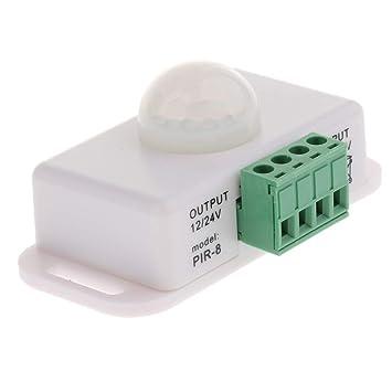 Dimmer Sensor de Movimiento PIR LED DC 12V 24V Interruptor ...