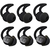 Bose Replacement Noise Isolation Silicone Earbuds/Earplug Tips 3 Pairs for Bose in-Ear Wired Earphones Fit Bose QC20…
