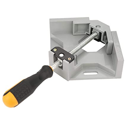 Abrazadera de ángulo recto de una manija de 90 grados, herramienta de sujeción de carpintería