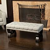 Great Deal Furniture 239301 Colette Ottoman Bench