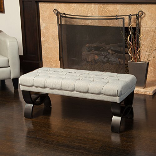 Great Deal Furniture 239301 Colette Ottoman Bench - Bedroom Office Bench