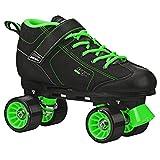 Pacer GTX 500 Roller Skate Black/Lime Size Men 7