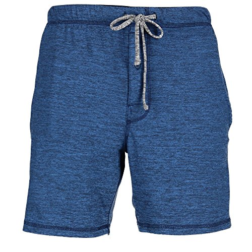 Hanes Men's Big and Tall Knit Sleep Shorts, 4X, Blue by Hanes