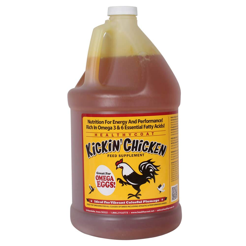 HealthyCoat Supplement Kickin Chicken, 1 Gallon by HealthyCoat